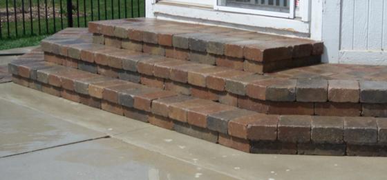 Paver Step Repair Birmingham MI