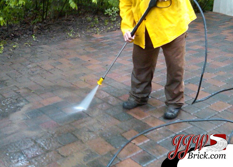 power wash brick pavers shelby twp mi